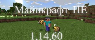 Скачать Майнкрафт ПЕ 1.14.60