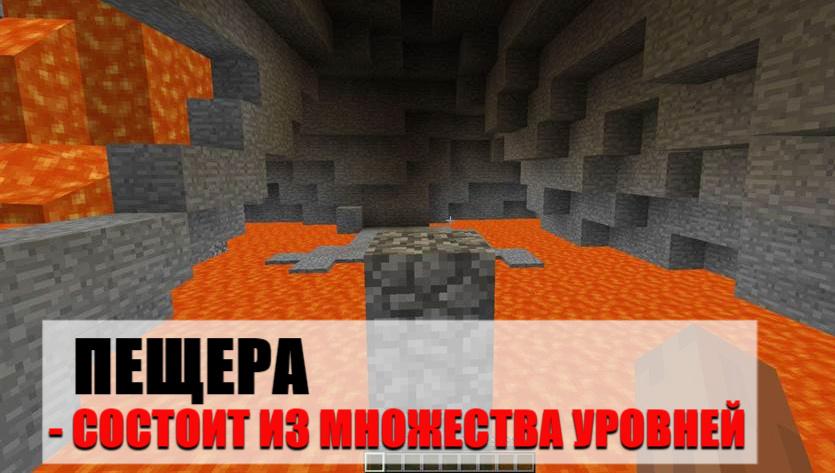 уровень пещера