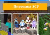 Мод Питомцы SCP