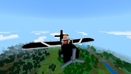 самолет в игре