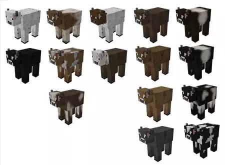 расцветки коров