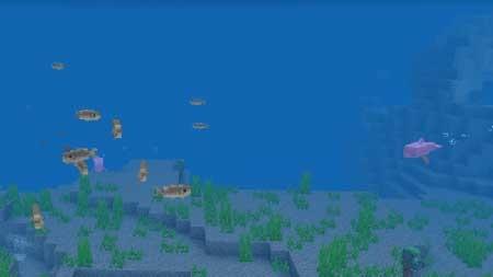 розовый дельфин в игре