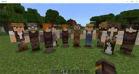 люди в деревнях