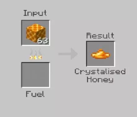рецепт крафта кристаллического мёда