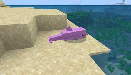 розовый дельфин
